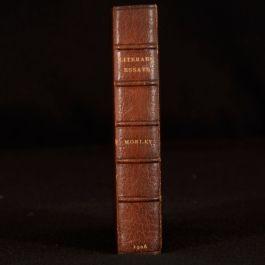 1906 Literary Essays John Morley First Humphreys Edition Byron Macaulay Carlyle