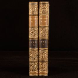 1822 2vols Bracebridge Hall The Humorists Geoffrey Crayon Washington Irving