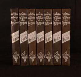 c1920 7vol Supplemental Nights Richard Burton Arabian Nights Limited Ed