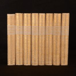1860-1891 4vols in 8 Tauchnitz Collection of British Authors Symonds Hawthorn Lyall Farrar
