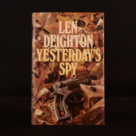 1975 Yesterday's Spy Len Deighton Dustwrapper First Edition