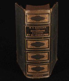 1884 Dictionnaire Universel D'Histoire et de Geographie