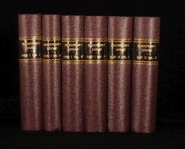 1875 6 Vols SHAKESPEARE'S Library Edited by W. HAZLITT
