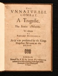1639 The Unnaturall Combat