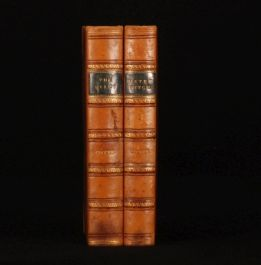 1831-1834 2 Vol Water Witch & The Pilot FENIMORE COOPER