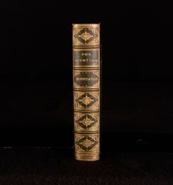 1868 Scrutator The Science Of Foxhunting First Edition In Leather Binding