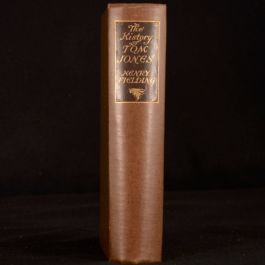 1925 The History of Tom Jones Henry Fielding Illustrated R Wheelwright Signed
