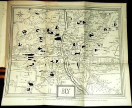 1924 BLY MARKET Gilbert LIMITED EDITION 1st MAP