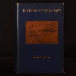 1894 2vol History of the United States Navy 1775-1893 1775-1894 Maclay Illustrated