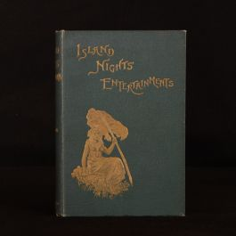 1893 Island Nights' Entertainments Stevenson First Edition Browne Hatherell Illustrated