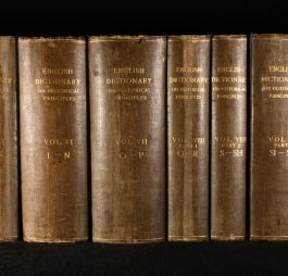 1888-1928 A New English Dictionary on Historical Principles