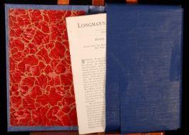 1883-1887 R L STEVENSON Longmans Magazine Extracts 1st