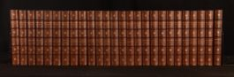 1894 26vols The Works of William Makepeace Thackeray Leather Illustrated