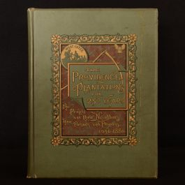 1886 The Providence Plantations Greene Uncommon First Edition Illustrated