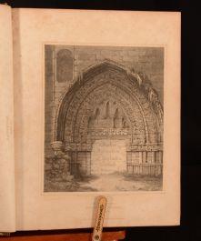 1814 The Border Antiquities Volume I 1st Ed Walter Scott Eric Quayle Ex Libris