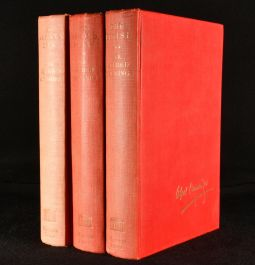 1950 3vol The Autobiography of Sir Alfred Munnings