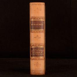 1822-5 2vols in1 Bibliotheca Heraldica Thomas Moule and Herald's Visitations