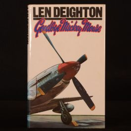 1982 Goodbye Mickey Mouse Deighton First Edition Dustwrapper