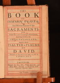 The Book of Common Prayer And Administrations of The Sacraments; The Whole Book of Psalms Collected into English Metre