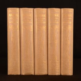 1923 5vols Essays of Montaigne Charles Cotton Translated Folding Plate Uncommon