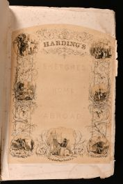 1836 Harding's Sketches at Home and Abroad
