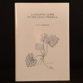 1986 Synoptic Guide to the Genus Primula Fenderson First Edition Illustrated