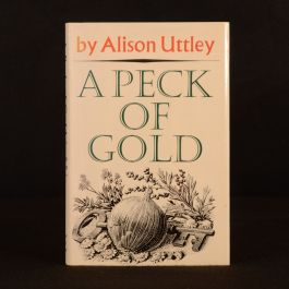 1966 A Peck of Gold Alison Uttley C F Tunnicliffe Illustrated 1st Ed Dustwrapper