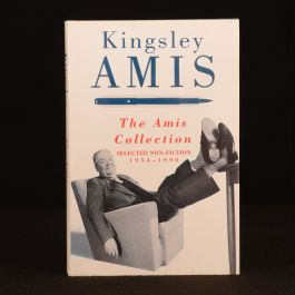 1990 Kingsley Amis The Amis Collection Selected Non-Fiction First Ed Dustwrapper