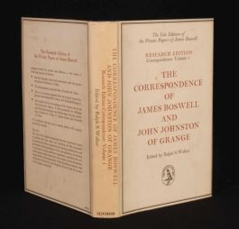 1966 James BOSWELL LETTERS John Johnston Walker Yale