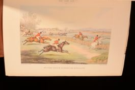 1955 British Sporting Prints Colour Plates With Slipcase Alken,Turner,Stubbs Etc