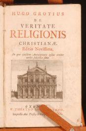 1700 De Veritate Religionis H.Grotius LATIN Protestant