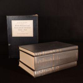 1975 3vols British Botanical and Horticultural Literature Blanche Henrey Illus