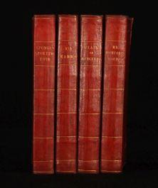 c1865 4 Vols Works of SURTEES Illus. LEECH and PHIZ