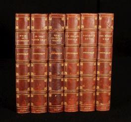 1896-1912 6v Works of ROBERT LOUIS STEVENSON Calf