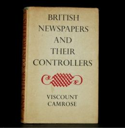 1947 NEWSPAPERS Controllers Viscount Camrose FIRST Edi