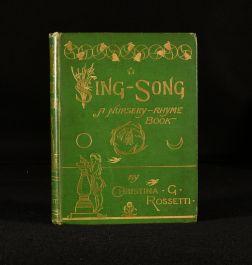 1872 Sing-Song a Nursery Rhyme Book