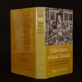 1988 Todos Santos in Rural Tlaxcala Nutini 1st Ed Dustwrapper Illustrated