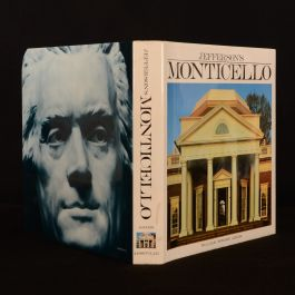 1983 Jefferson's Monticello Adams First Edition Clay Illustrated Dustwrapper