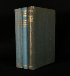 1941-6 Three Volumes of War Speeches of Winston Churchill