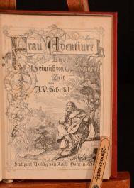 1878-82 5vol Works of Joseph Victor von Scheffel Illustrated German