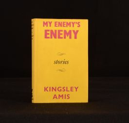 1962 My Enemy's Enemy Kingsley Amis First Edition Novel Victor Gollancz