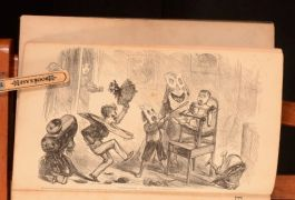 1872 The Essence of Fun Selected and Arranged by Thomas Hood Fun Magazine First