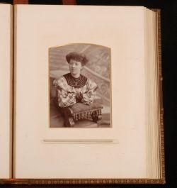 c1880-1910 Victorian PHOTOGRAPH ALBUM Carte Visite