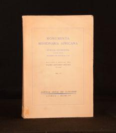 1954 Monumenta Missionaria Africana Padre Antonio Brasio Volume Four