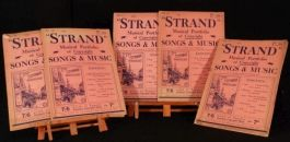 c1910 5 vols The Strand MUSICAL Portfolio