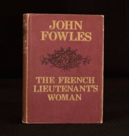 1969 John Fowles The French Lieutenant's Woman Dustwrapper First Edition
