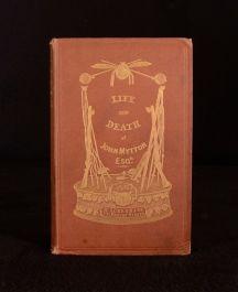 1851 Nimrod Memoirs Of The Life Of John Mytton With Eighteen Colour Plates