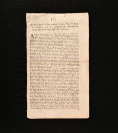 1683 A True Copy of a Paper written by Capt. Tho. Walcott in Newgate After his Condemnation