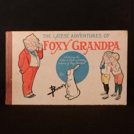1905 The Adventures of Foxy Grandpa Bunny Schultze Scarce Colour Illustrated