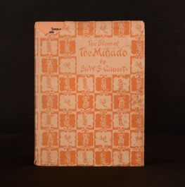 1921 The Story of the Mikado W. S. Gilbert Alice Woodward Illus Dustwrapper 1st
